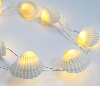 BO copper wire LED lights ture shell  DD-2005
