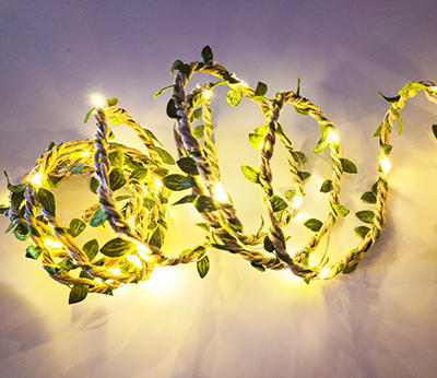 copper wire LED leaf decotion  DD-2019