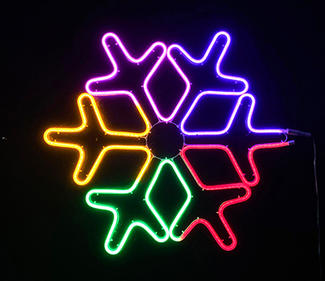 multi neon light snow  DD-2083
