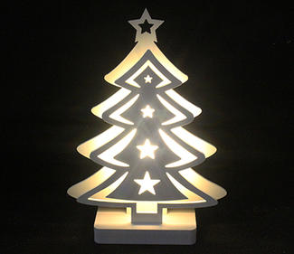 PVC board tree 6LED 24x6x33cm  DD-3017